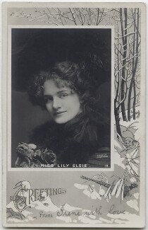 Lily Elsie, by Johnston & Hoffmann - NPG x138270