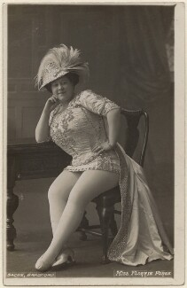 Florrie Forde (née Florence Flanagan), by Albert Sachs - NPG x138277