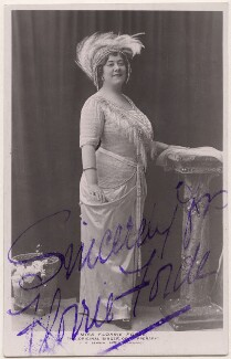 Florrie Forde (née Florence Flanagan), by J.P. Bamber Studios of Blackpool - NPG x138283