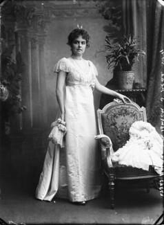 Baroness Van Buren, by Bassano Ltd - NPG x158928