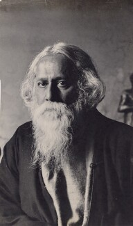Rabindranath Tagore, by Fox Photos Ltd - NPG x194193