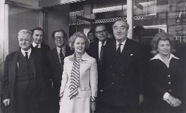 Margaret Thatcher with her Shadow Cabinet , 1975, by Keystone Press Agency Ltd - NPG x194195