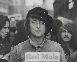 John Lennon, by Rowland Scherman - NPG x138258