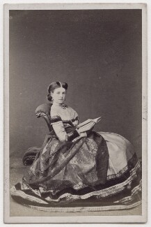 Hariot Georgina (née Rowan-Hamilton), Marchioness of Dufferin and Ava, by Lock & Whitfield - NPG x197103