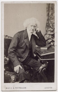 Sir John Frederick William Herschel, 1st Bt, by Maull & Polyblank - NPG x197115