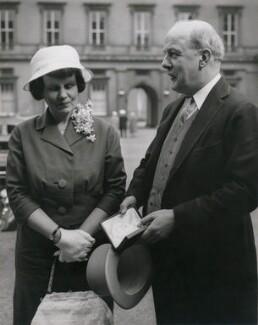 Penelope (née Chetwode), Lady Betjeman; Sir John Betjeman, by P.A. Reuter Photos Ltd - NPG x194234