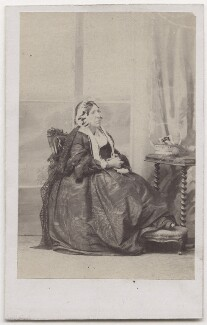Mary (née Gilbert), Lady Robert Kerr, by Caldesi, Blanford & Co - NPG x197125