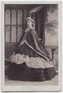 Louise Frederica Augusta Cavendish (née von Alten), Duchess of Devonshire (formerly Duchess of Manchester), by Camille Silvy - NPG x197130