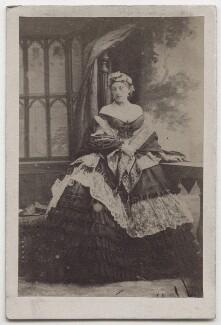 Louise Frederica Augusta Cavendish (née von Alten), Duchess of Devonshire (formerly Duchess of Manchester), by Camille Silvy - NPG x197132