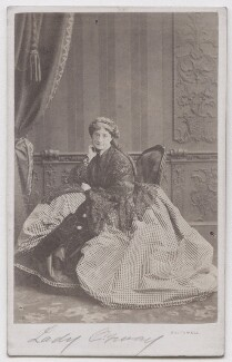 Eliza Price Noble (née Campbell), Lady Otway (later Mrs Leathem), by Southwell Brothers - NPG x197141