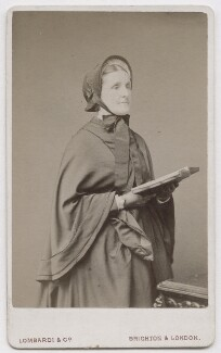 Hannah Smith (née Whitall) (Mrs Pearsall Smith), by Lombardi & Co - NPG x197144