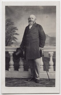 Sir Thomas Howland Roberts, 3rd Bt, by Charles Thomas Newcombe - NPG x197150