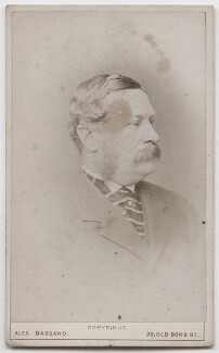 Unknown man, formerly known as Philip Reginald Cocks, 5th Baron Somers, by Alexander Bassano - NPG x197165
