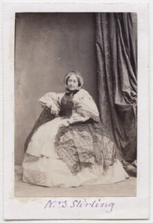 Fanny Stirling, by Camille Silvy - NPG x197167