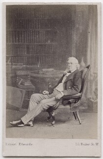 William Makepeace Thackeray, by Ernest Edwards - NPG x197171