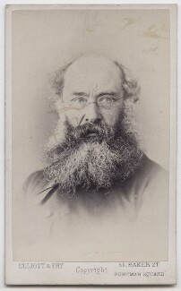 Anthony Trollope, by Elliott & Fry - NPG x197174