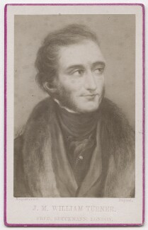 Joseph Mallord William Turner, published by Friedrich Bruckmann, after  Charles Wentworth Wass, after  John Linnell - NPG x197176