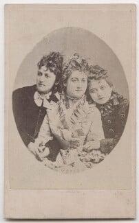 Jessie Catherine Biddulph Vokes; Victoria Rosaline Sarah Vokes; (Theodocia) Rosina Vokes, after José Maria Mora - NPG x197178