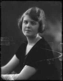 Evelyn Florence Margaret Winifred Nightingale (née Gardner, formerly Waugh), by Bassano Ltd - NPG x158932