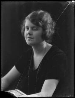 Evelyn Florence Margaret Winifred Nightingale (née Gardner, formerly Waugh), by Bassano Ltd - NPG x158933