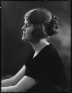 Evelyn Florence Margaret Winifred Nightingale (née Gardner, formerly Waugh), by Bassano Ltd - NPG x158935