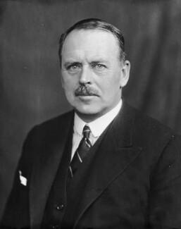 William George Arthur Ormsby-Gore, 4th Baron Harlech, by Bassano Ltd - NPG x158938