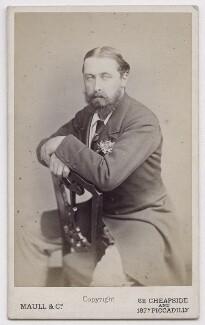 Prince Alfred, Duke of Edinburgh and Saxe-Coburg and Gotha, by Maull & Co - NPG x197207