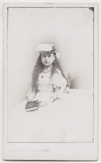 Princess Beatrice of Battenberg, by Disdéri - NPG x197213