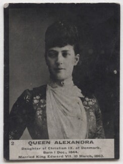 Queen Alexandra, by Lafayette, published by  Ogden's - NPG x197220