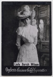 Lady Sarah Isabella Augusta Wilson (née Spencer-Churchill), published by Ogden's - NPG x197222