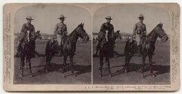 Sir Alexander John Godley; Robert Baden-Powell, published by Underwood & Underwood, 17 June 1900 - NPG x197226 - © National Portrait Gallery, London