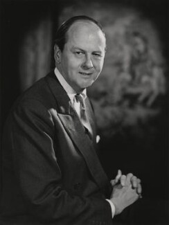 Andrew Robert Buxton Cavendish, 11th Duke of Devonshire, by Walter Bird - NPG x186966