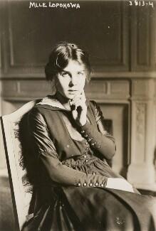 Lydia Lopokova, by Bain News Service, circa 1916 - NPG x194286 - © National Portrait Gallery, London
