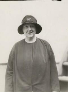 Marie Adelaide Elizabeth Renée Julia Belloc Lowndes (née Belloc), by Bain News Service - NPG x194287
