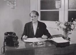 Dame Vera Elvira Sibyl Maria Laughton Mathews, by Unknown photographer - NPG x194294