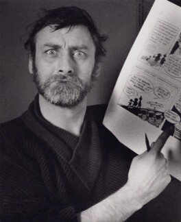 Spike Milligan, by David Hurn - NPG x194297