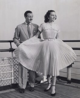 David Niven; Hjördis Paulina Tersmeden (née Genberg), by Unknown photographer - NPG x194301