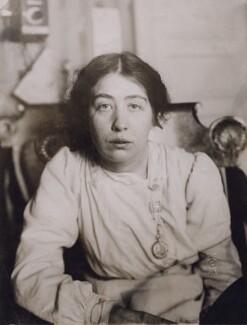 Sylvia Pankhurst, by George Grantham Bain - NPG x194305