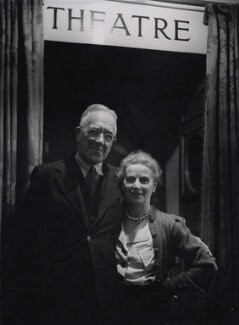 Ashley Dukes; Marie Rambert, by Tom Blau, for  Camera Press: London: UK - NPG x194311