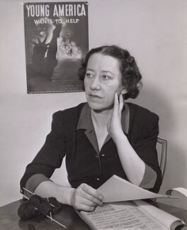 Flora Robson, by Unknown photographer - NPG x194313
