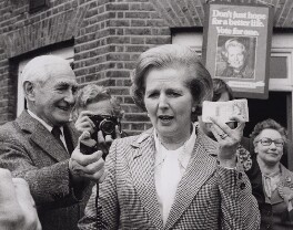 Margaret Thatcher, by Central Press - NPG x194329