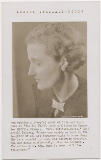 Amabel Williams-Ellis, by Edith Tudor-Hart - NPG x194334