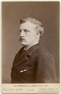 John Campbell, 9th Duke of Argyll, by Elliott & Fry - NPG x197244