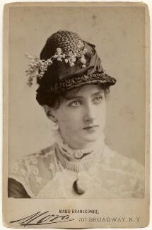 Maud Branscombe, by José Maria Mora - NPG x197252