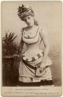 Phyllis Broughton as Onduletta in 'Lurline', by Samuel Alexander Walker - NPG x197255