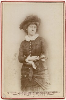 (Julia Sarah) Anne Cobden-Sanderson, by Unknown photographer, 1881 - NPG  - © National Portrait Gallery, London