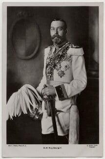 King George V, by Ernst Sandau, published by  Rotary Photographic Co Ltd - NPG x197279