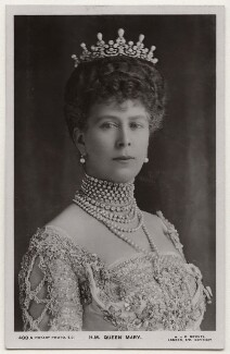 Queen Mary, by W. & D. Downey, published by  Rotary Photographic Co Ltd - NPG x138851
