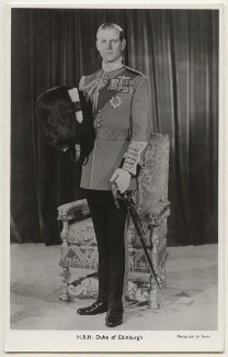Prince Philip, Duke of Edinburgh, by Baron (Sterling Henry Nahum), published by  The Photochrom Co Ltd - NPG x138865