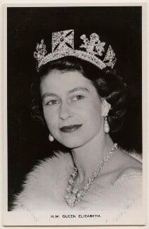 Queen Elizabeth II, published by James Valentine & Sons Ltd - NPG x138886
